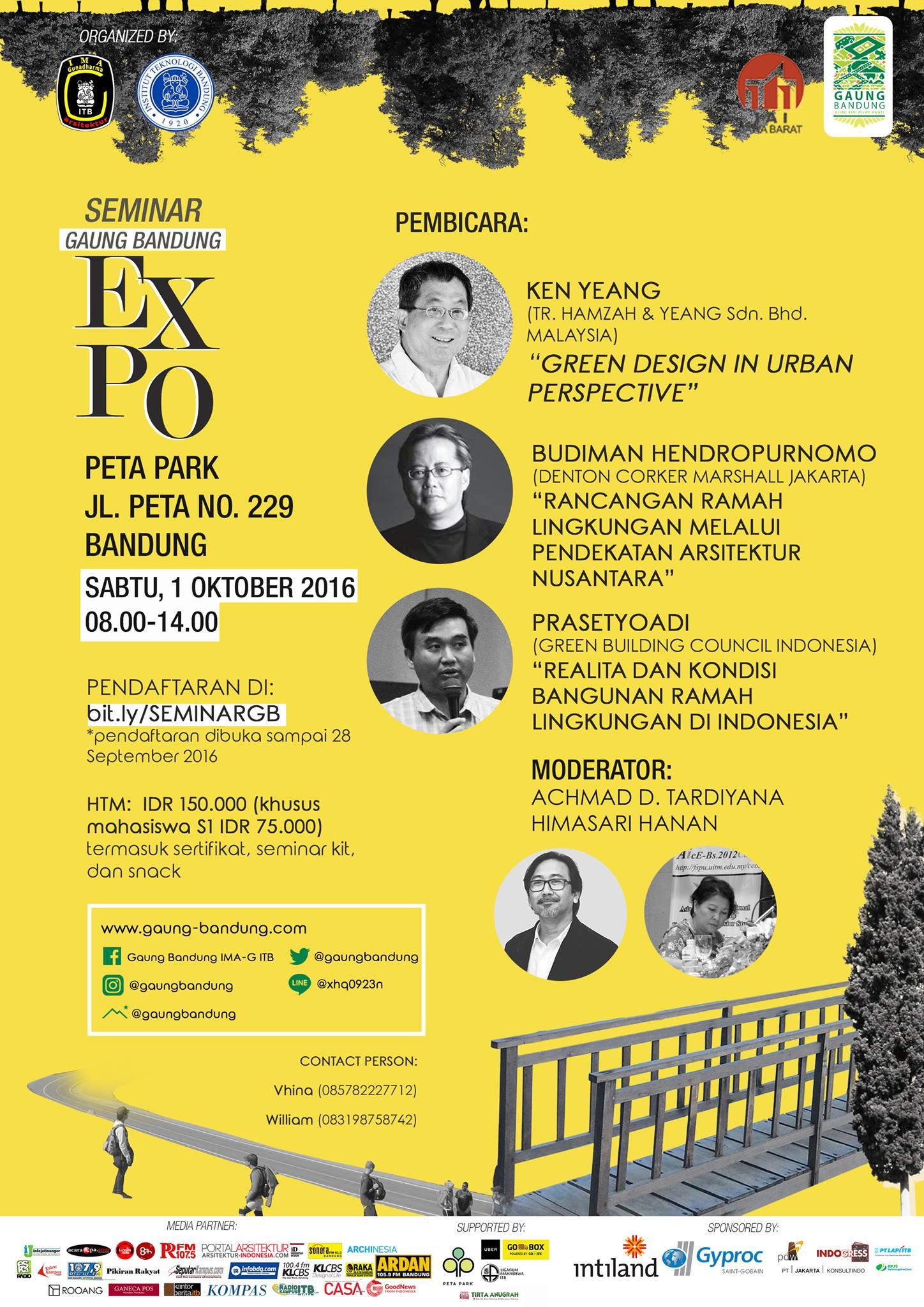Expo Gaung Bandung 1 Oktober 2016