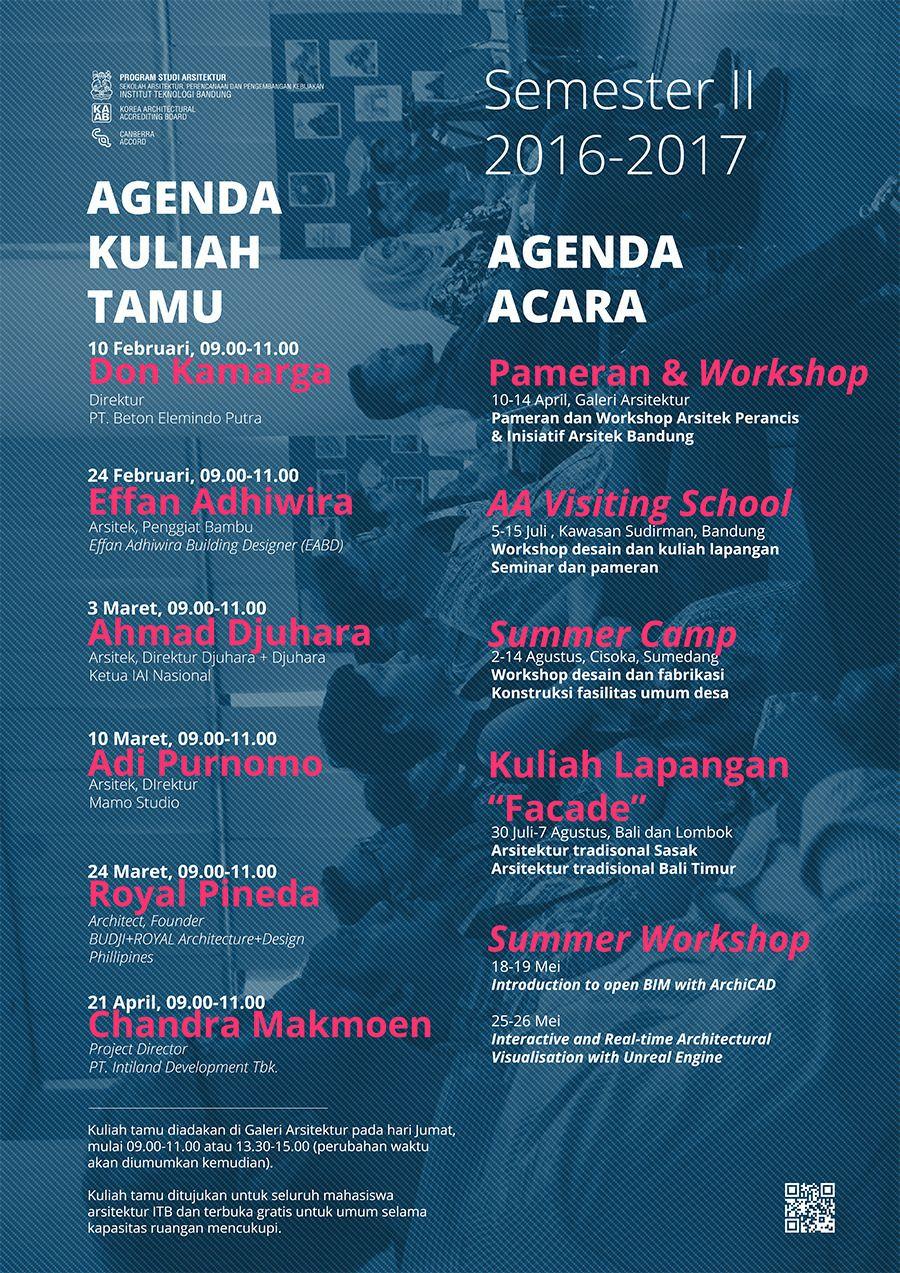 Kuliah Tamu Semester II 2016-2017