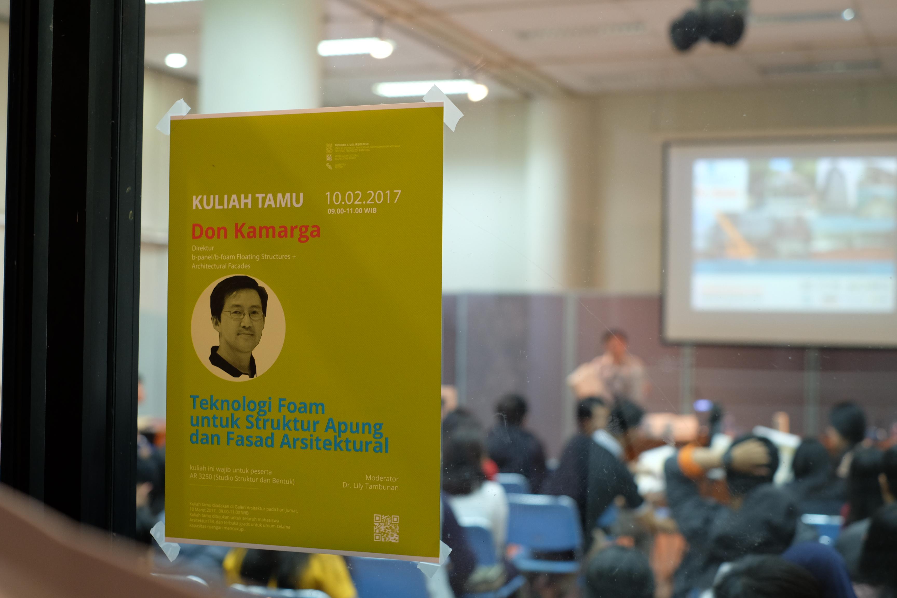 Kuliah Tamu-Don Kamarga, PT. Beton Elemenindo Putra
