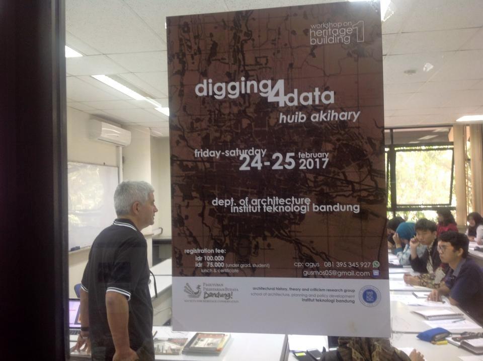 Workshop on Heritage Building: Digging for Data