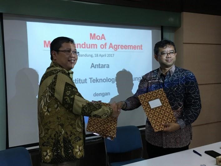 Penandatanganan MoA dengan PT. BKL
