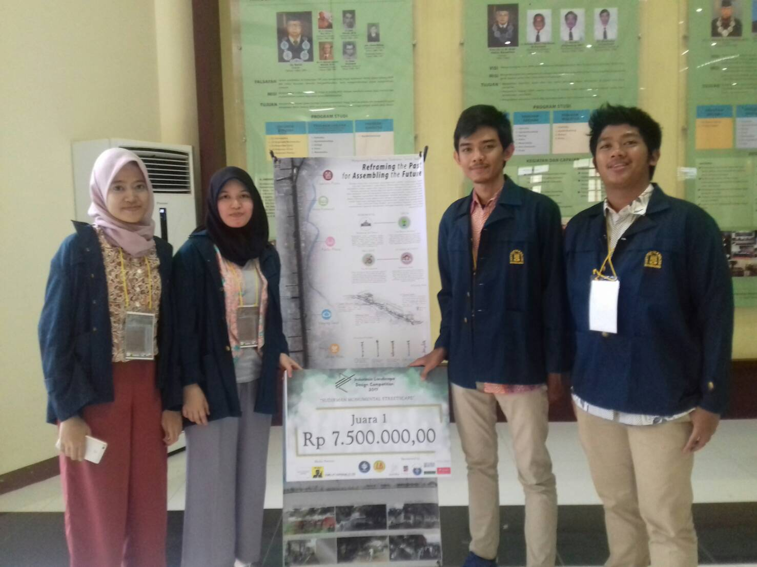 Juara 1 Indonesia Landscape Design Competition 2017