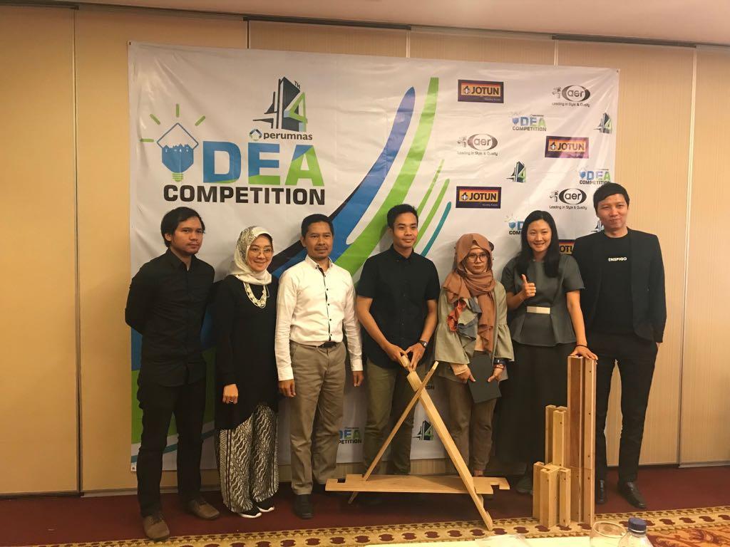 Juara Favorit – Idea Competition Perumnas 2018
