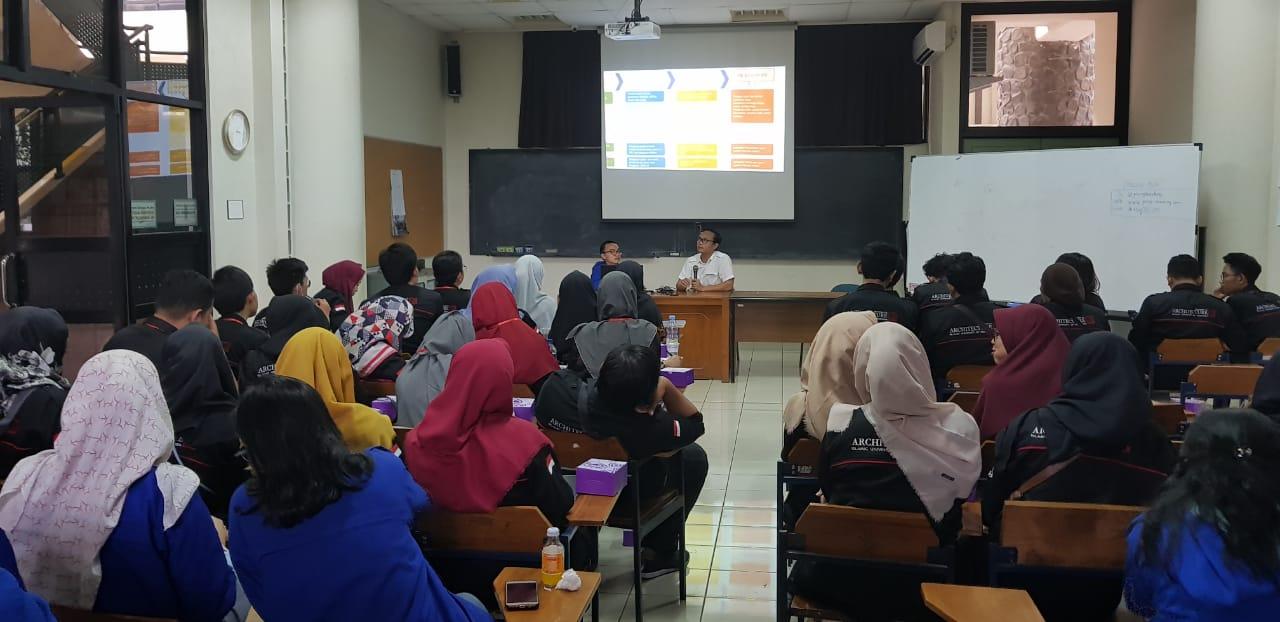 Kunjungan Mahasiswa Universitas Islam Indonesia