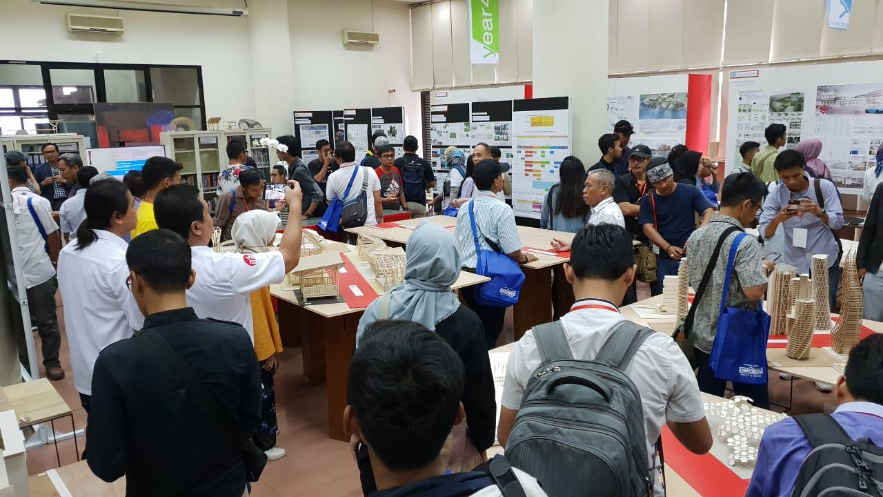 Kunjungan Rombongan Delegasi Anggota IAI dan Open House Arsitektur ITB