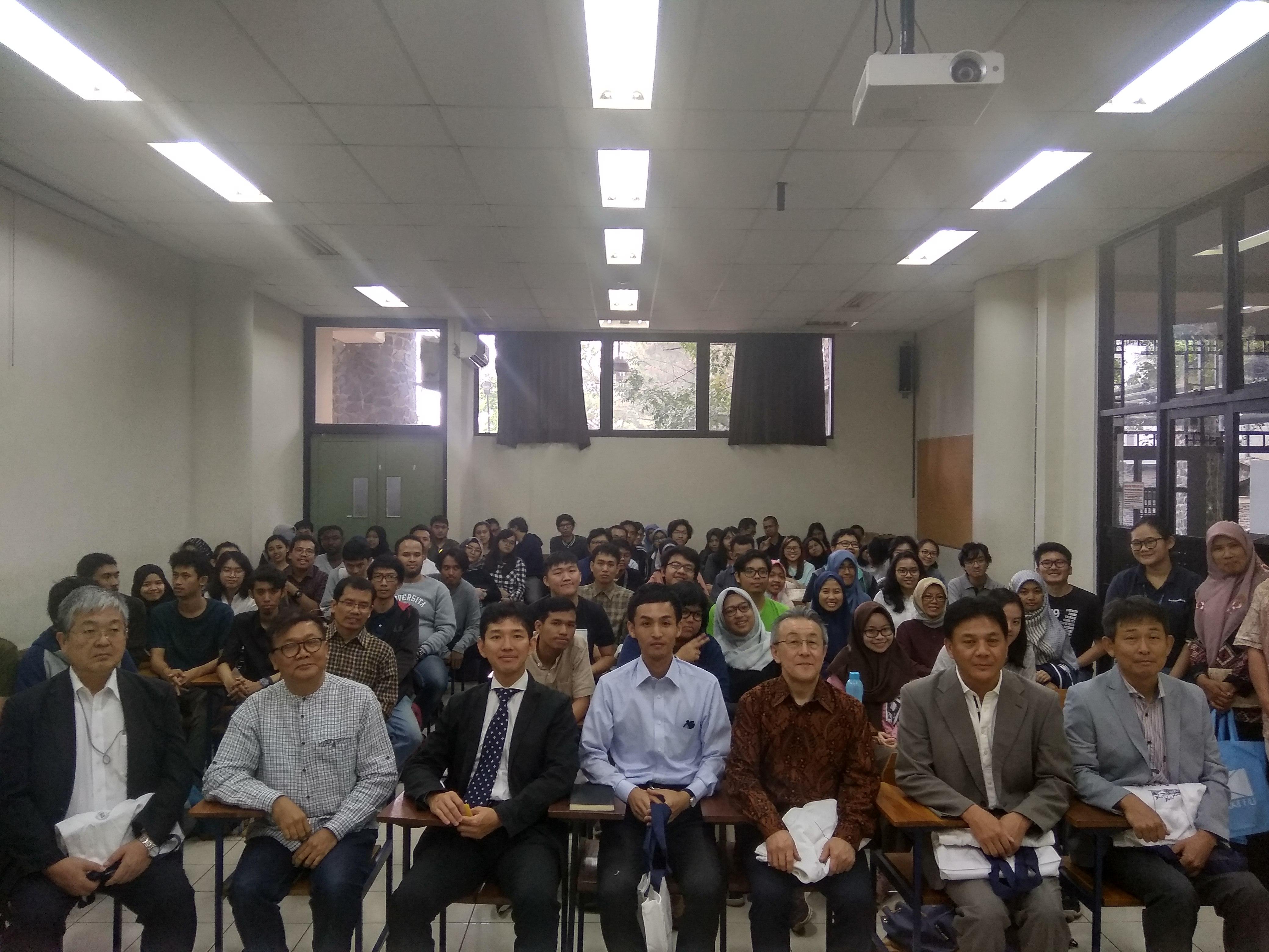Kuliah Tamu-31 Agustus 2018: Prof. Atsushi Sato