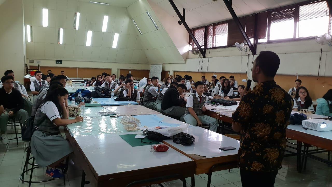 Kunjungan SMA BPK Penabur Harapan Bangsa Jakarta
