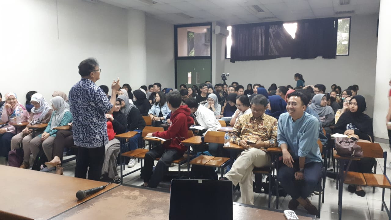 Kuliah Tamu-19 November: Wahyu Pratomo