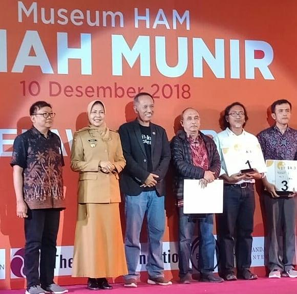 Juara 1 Sayembara Desain Museum HAM: Achmad Deni Tardiyana dan Tim