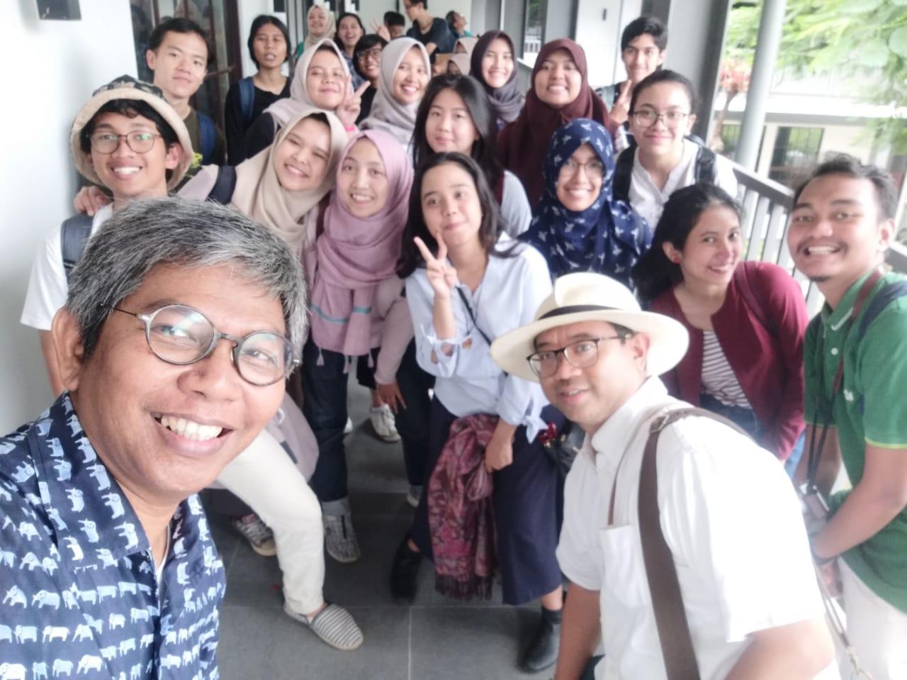 Kuliah Lapangan ke Gedung Arsip Nasional Republik Indonesia, 16 Februari 2019