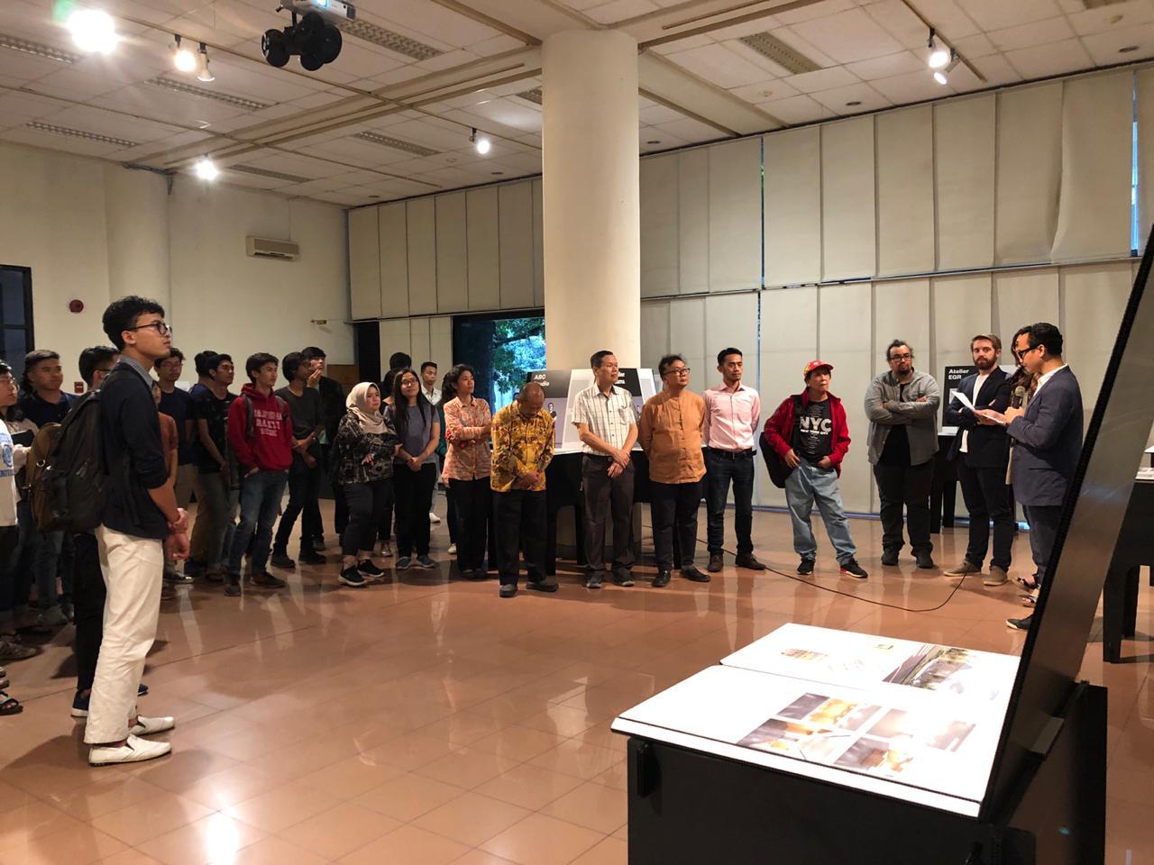 Pameran, Workshop Studio dan Kuliah Tamu Atelier LJN-Paris