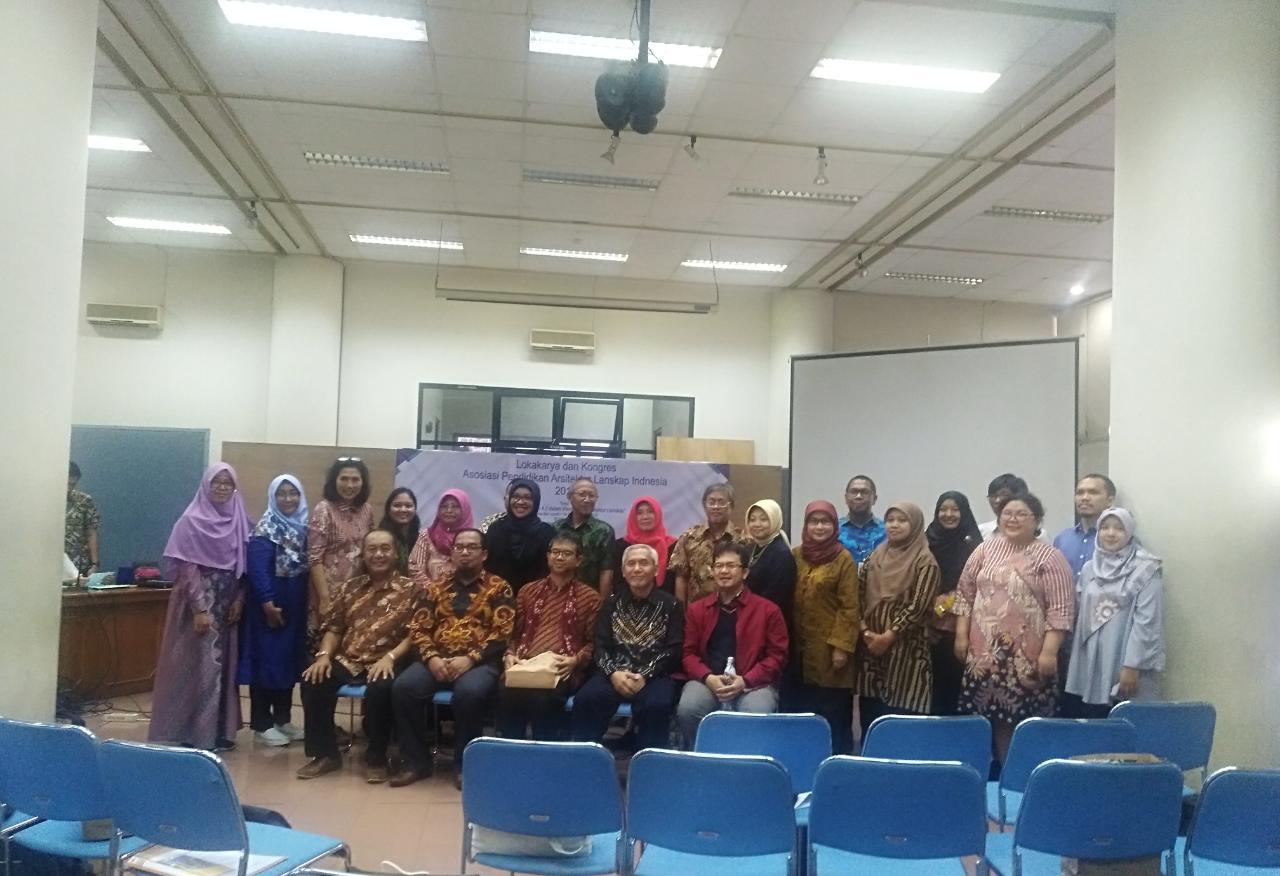 Kongres dan Lokakarya APALI (Asosiasi Pendidikan Arsitektur Lanskap Indonesia)- 19 & 20 September 2019