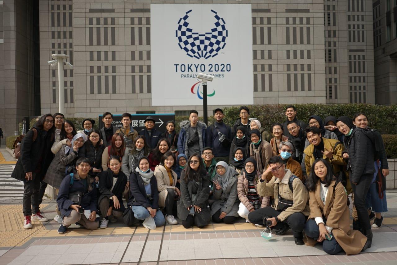 Pameran Virtual Kuliah Lapangan Tokyo 13-17 Februari 2020