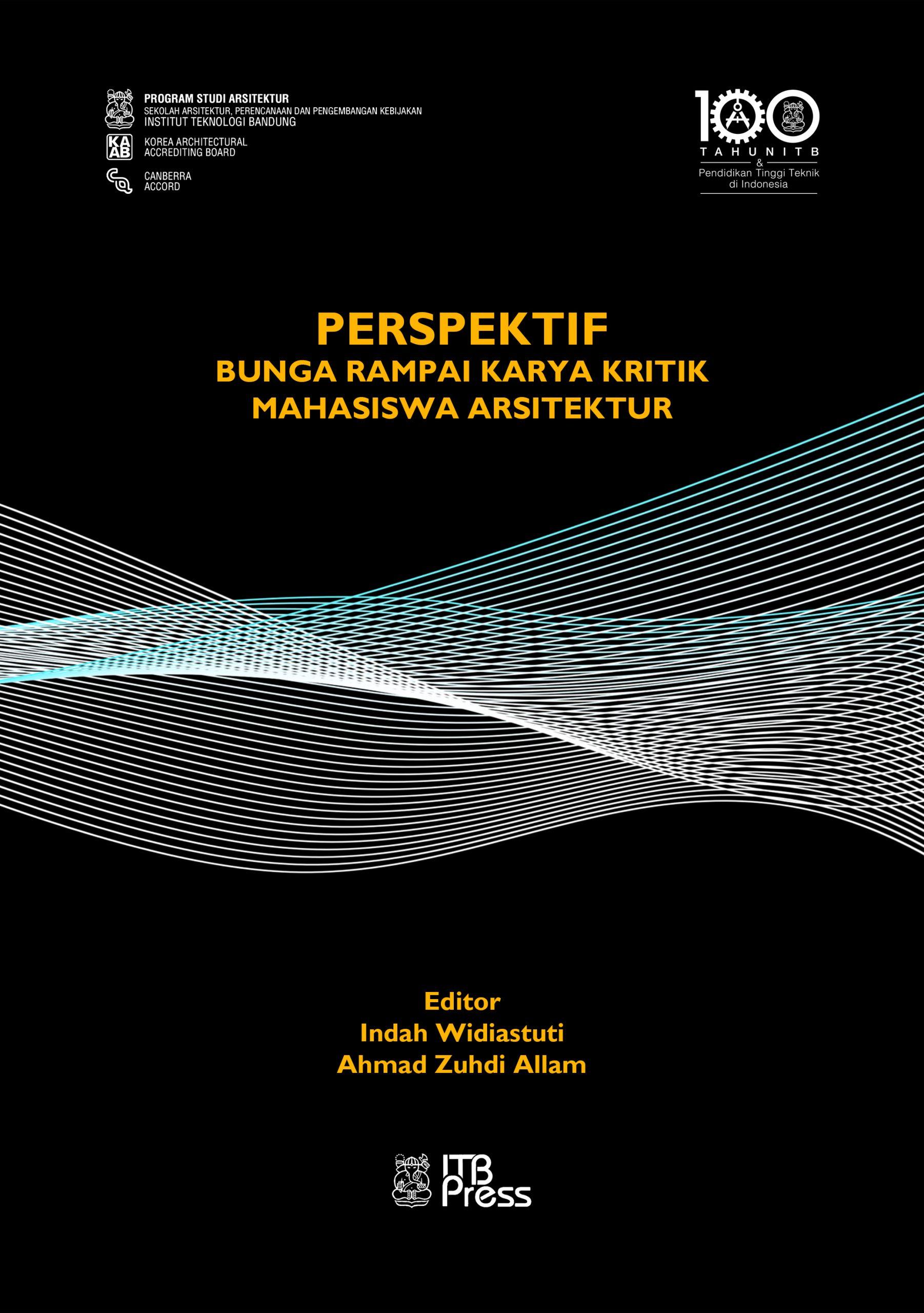 Buku Perspektif Bunga Rampai Karya Kritik Mahasiswa Arsitektur
