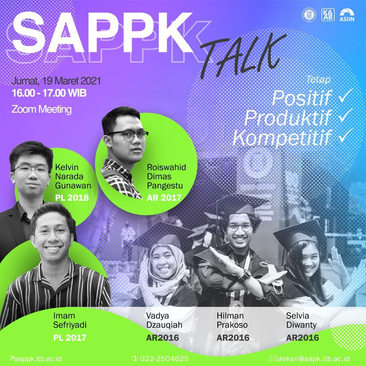 SAPPK TALK