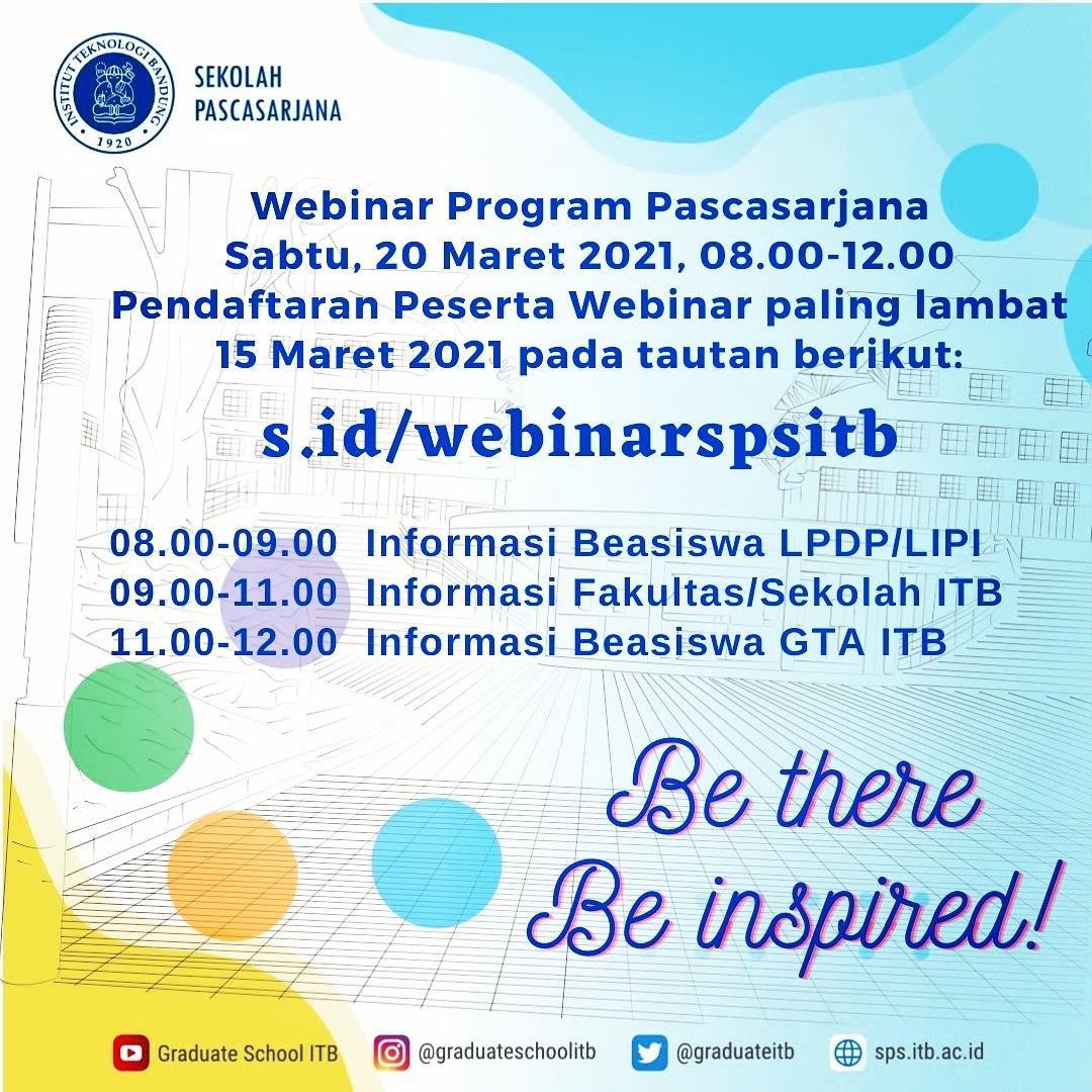 Webinar Program Pascasarjana