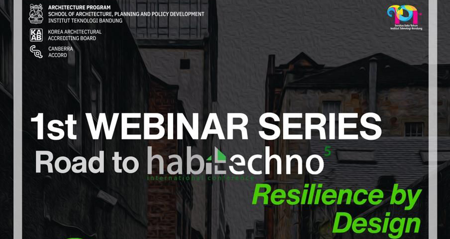 Road to Habitechno 5 : Resilience by Design