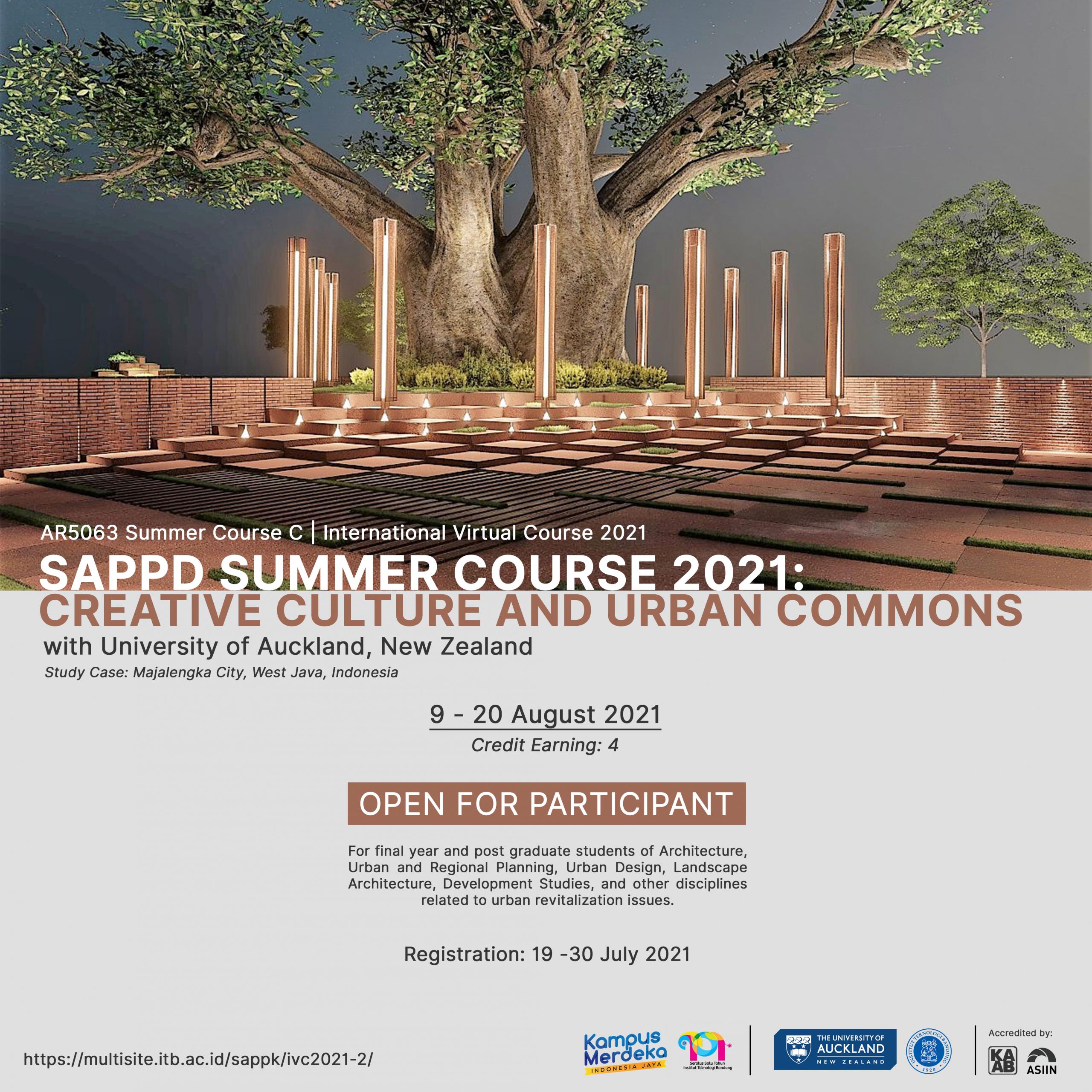 Summer Course – International Virtual Course (IVC) 2021